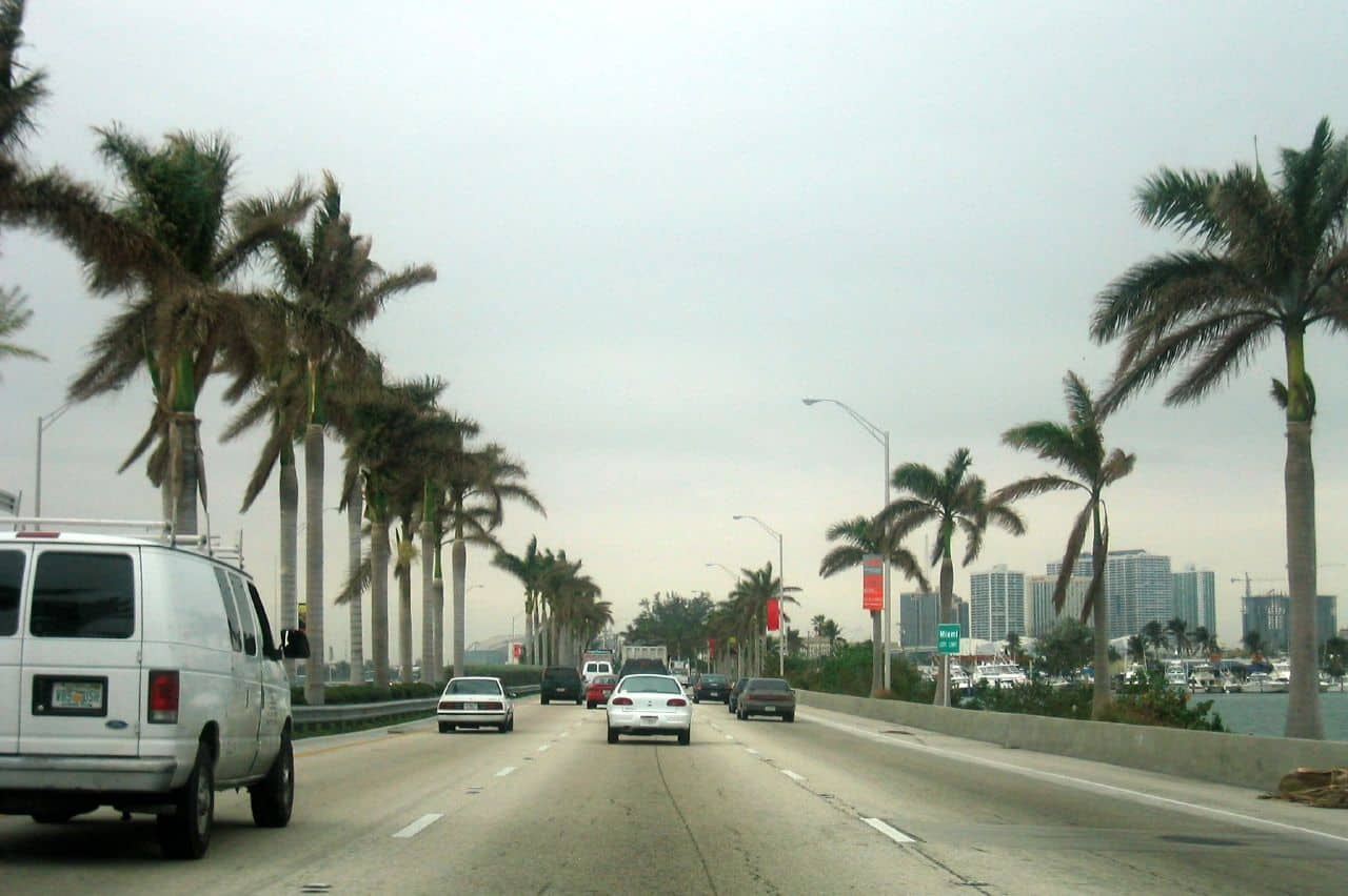 Miami: MacArthur Causeway by Wally Gobetz https://goo.gl/ErZFBr